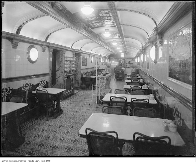 chairs hanging from ceiling boat seats captains vintage restaurant photographs the toronto archives