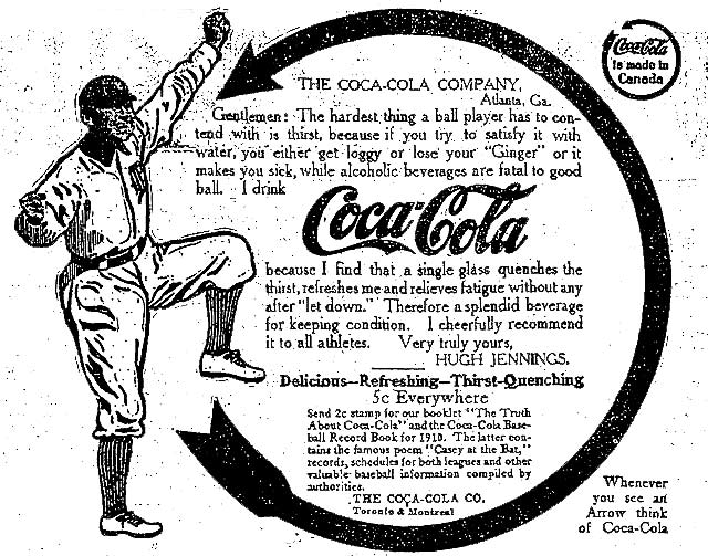 Vintage Toronto Ads: Ee-Yah Drinks Coca-Cola