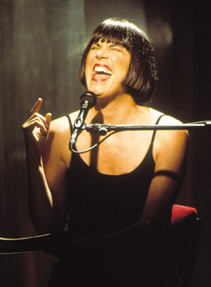 Eve Ensler performing the Monologues