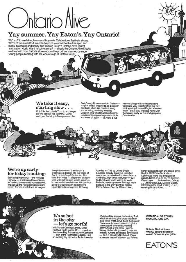 Vintage Toronto Ads: Heritage Highways