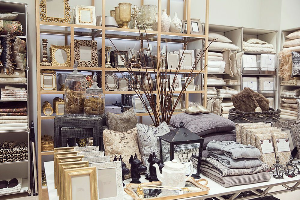 store guide zara home another area of the store emphasizes