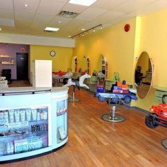 Kids Spa Chair Plush Rocking Chairs For Toddlers Best Haircuts And Barbers In Toronto Mom Now