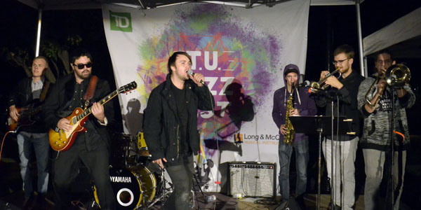 The Accolades performing at the T.U. Jazz Festival 2017