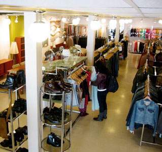 The vintage store Bungalow, in Kensington Market, sells furniture and house wares as well as clothing.