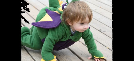 A little dragon on the the prowl.