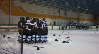 The Porter Eagles celebrate winning the gold.