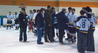 The King Academy Lions are awarded the silver medal.