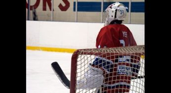 Canadians' goalie Tommy Yee was key in their 5-0 victory over the Coyotes.