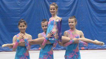 Canadian Junior Rhythmic Gymnastics team