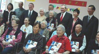 Phillips presented Outstanding Volunteer Awards to CareFirst volunteering seniors.