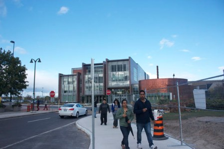 16,000 students at Centennial College's Progress Campus have access to the brand new learning centre opened up on Sept. 8th.