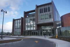 The new four-storey library designed by Diamond + Schmitt Architects cost the College $34-million.