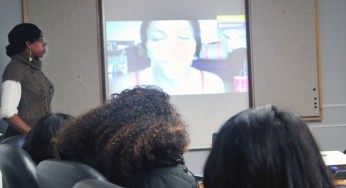The Sister 2 Sister program uses a variety of resource materials to illustrate the message. On Feb. 16, several videos were used to stimulate the conversation on the female image and gender harmony.