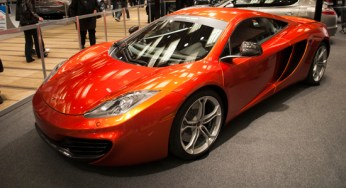 McLaren's second supercar since the F1, this bright orange McLaren MP4-12C is one of two examples driving around the GTA, according to Erik Morrison of Pfaff Motors.