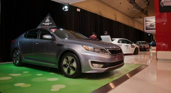 Fresh off Motoring 2012's Car of the Year win, the Optima was also an attention grabber at this year's Canadian International Autoshow.