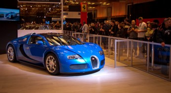 Priced in the millions, the latest edition of the Bugatti Veyron is equipped with a quad-turbocharged, 16-cylinder engine producing in excess of 1,000 horsepower. Steven Pavan, a sales consultant at Grand Touring Automobiles, says both the Aston Martin One-77 and the Veyron are examples of 'automotive art.'