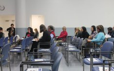 Scarborough resident's at TSH meeting on refreshing the hospitals strategic plan.
