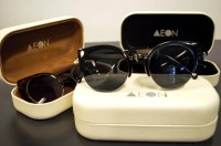 The sunglasses that Aeon Attire recently launched. They offer wayfarers and cat eye.