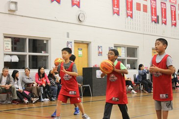 Lessons ranged from passing to rebounding, covering even how to properly hold the ball.