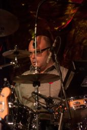 Barenaked Ladies drummer Tyler Stewart during 'Odds Are' at the Nov. 7 fundraising dinner in support of health programs for military families across Canada.