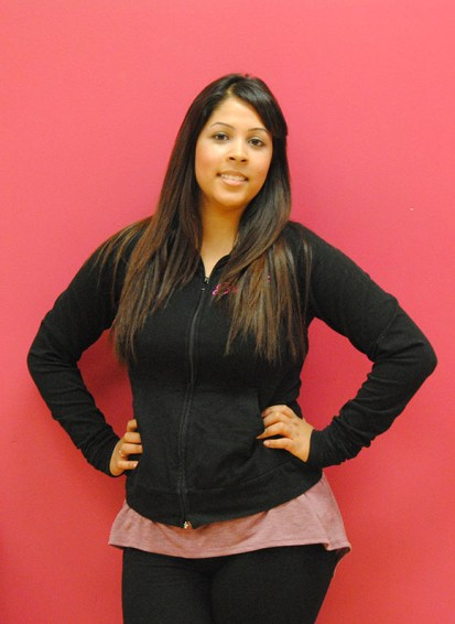Sheetal Suzanna, one of the instructors at BollyFuze and teacher of BollyBoot Camp.