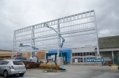 Cedarbrae Mall is getting a new entrance sign as part of its facelift, which is expected to be completed by Dec. 15.