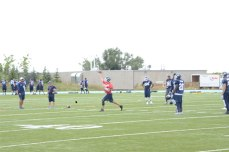 Toronto Argonauts quarterback Ricky Ray is excited to have some of his offensive weapons returning soon.