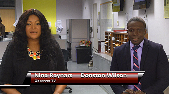 Nina Raynars and Donston Wilson