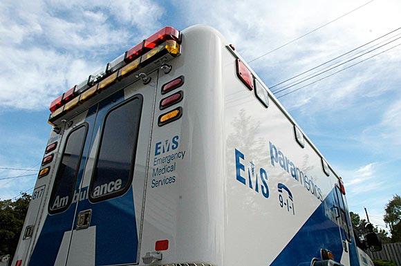 Toronto EMS ambulance