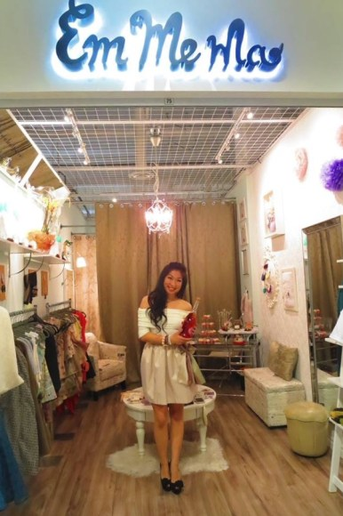 Local designer Emily Ma