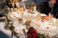 These special jellies are made from various alcohols, including white wine and cabernet sauvignon.