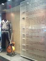 The Hard Rock Café's collection of Bob Dylan clothes and harmonicas