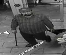 Suspect of sexual assault was captured by security camera