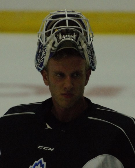 Marlies goaltender Garret Sparks is determined to earn more starts this season.