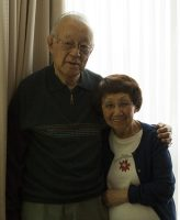 Tad and Jenny Oyagi, both 88, in their home at the Momiji Seniors Centre in Scarborough.