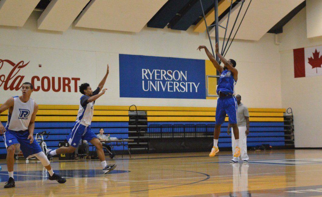 Ryerson Rams practice