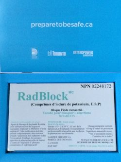 Residents in the 10-kilometre radius of Ontario nuclear plants received blue packages in the mail recently containing pills to ingest in the event of a nuclear disaster.