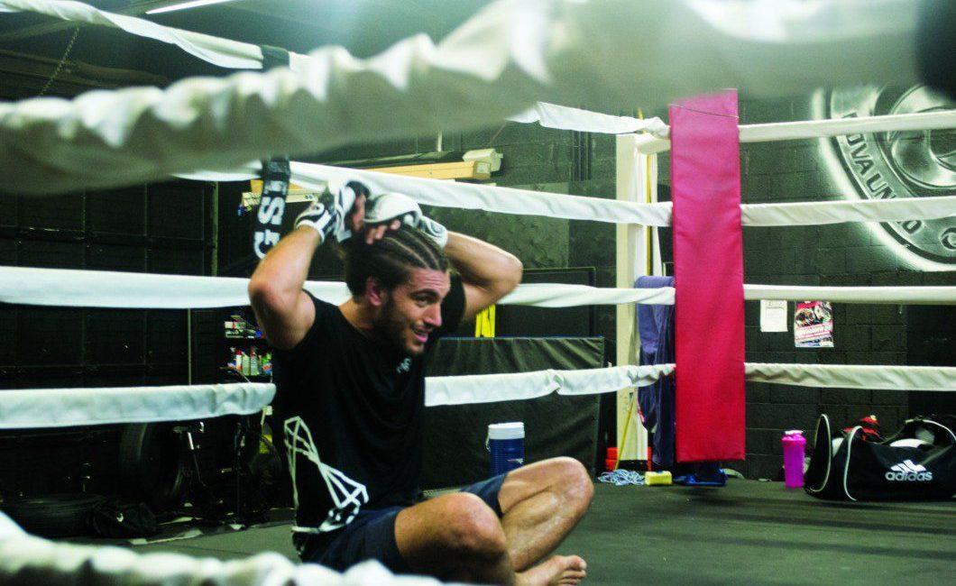 UFC fighter Elias Theodorou
