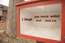 """""""I thought you were solid but you're just fluff."""" - Erika James Located at 254 Rusholme Rd."""