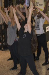 Centennial dance students