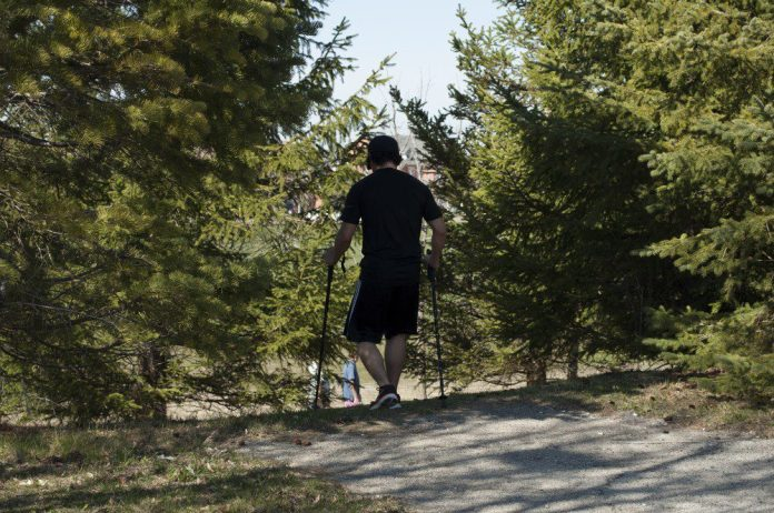 Activities like hiking can improve and individual's health and mood.