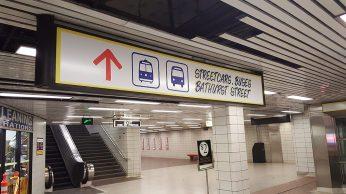 Streetcars sign