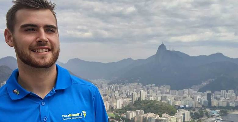 Braydon Holmyard in Rio