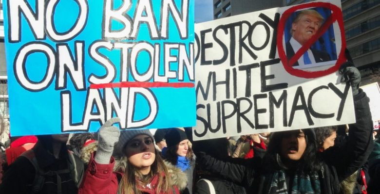 Protest at U.S. Consulate