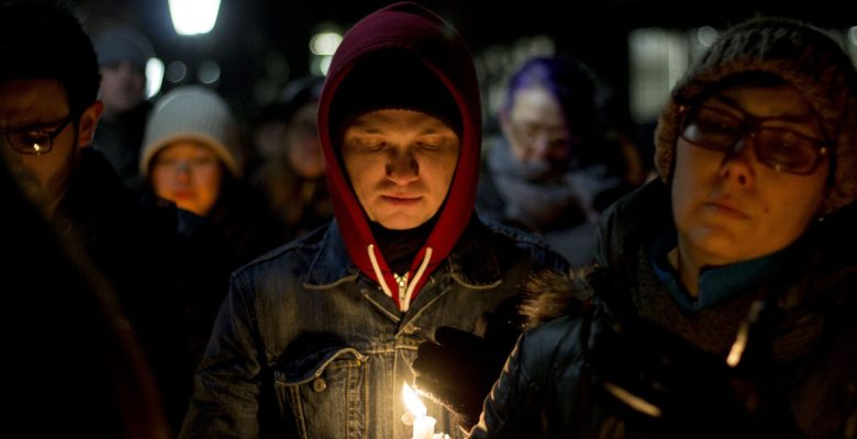Vigils held for Quebec shooting victims