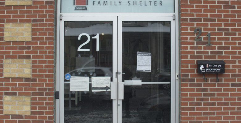 Red Door Family Shelter at 21 Carlaw Ave.