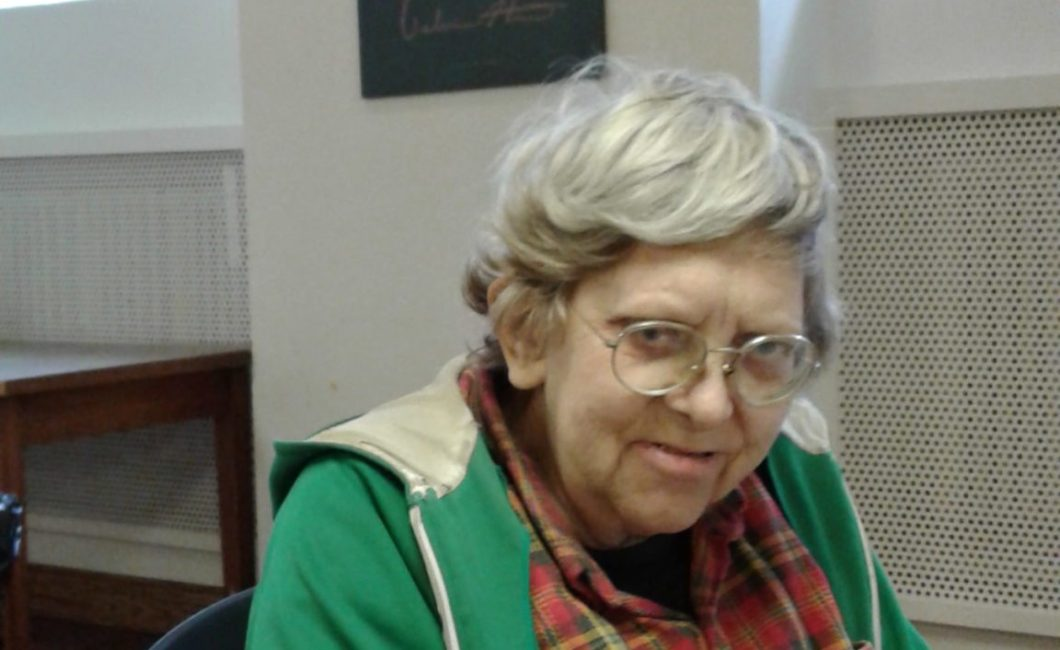 senior citizen at First Nations centre