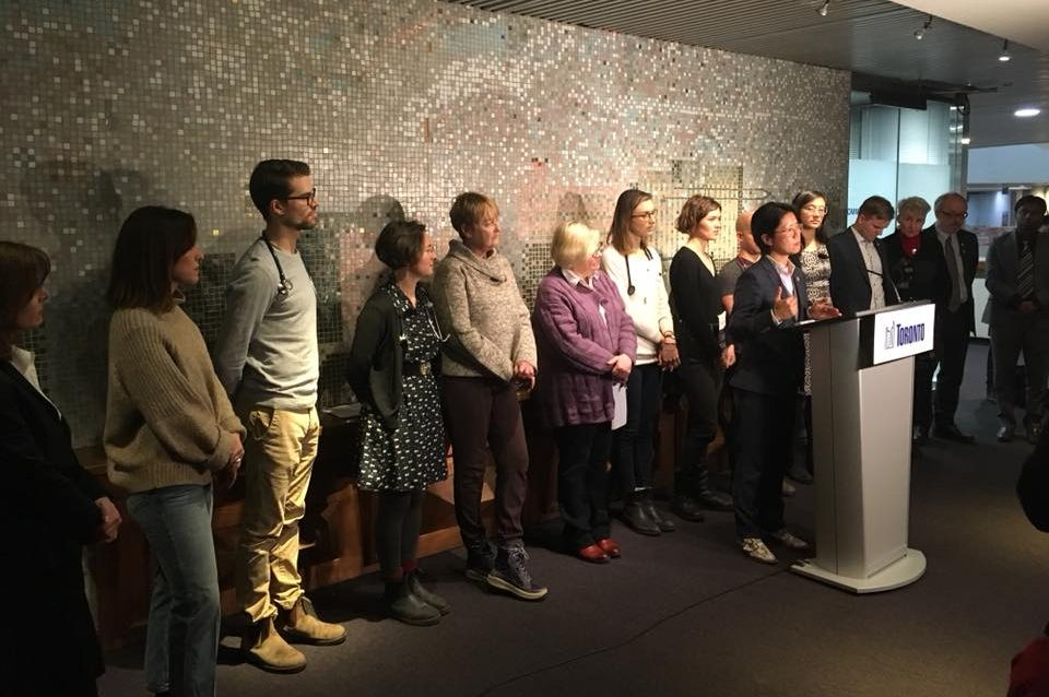 homeless shelters press conference