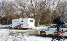 Police command post