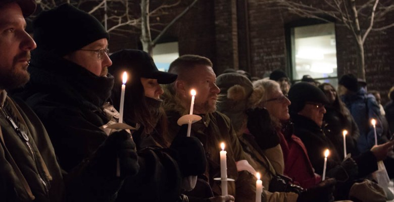 Vigil for victims of serial killer